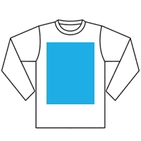 Long sleeves front