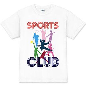 スポーツクラブ オリジナルスタッフTシャツ