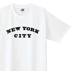 NEW YORK CITY とデザインした、オリジナルTシャツ