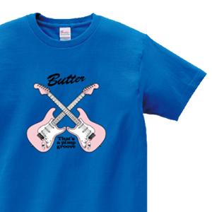 ギターのエンブレでデザインした、オリジナルTシャツ