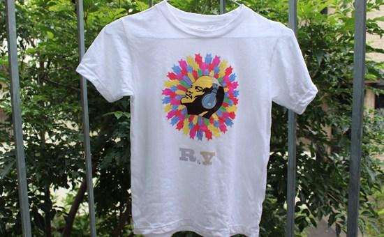 3回洗濯後のオリジナルTシャツ