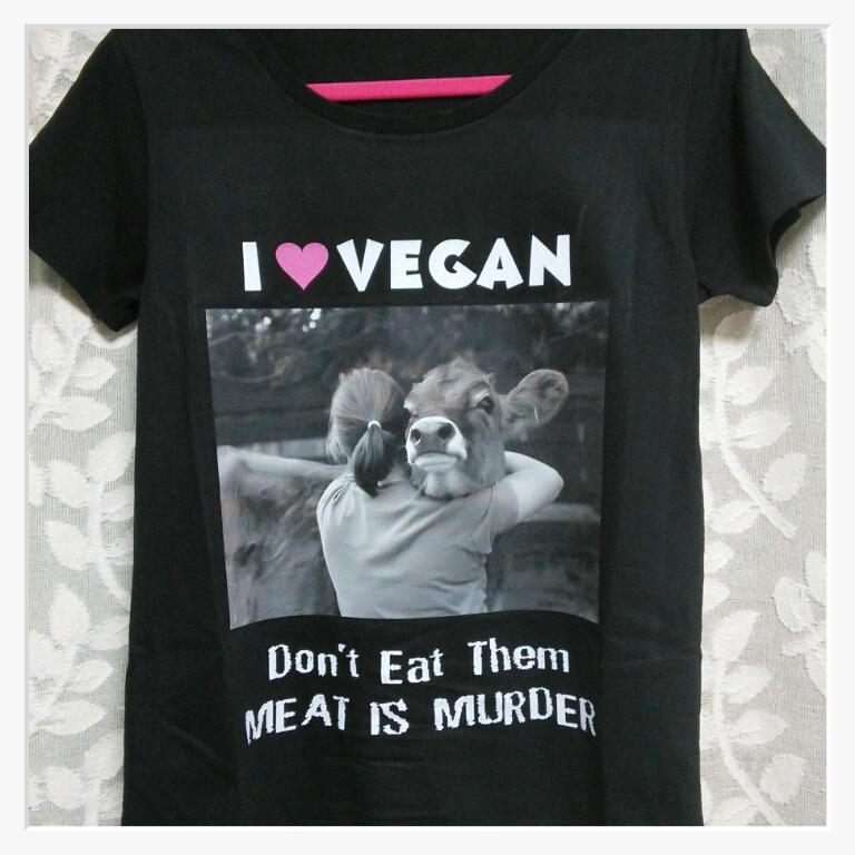 アニマルライツ様のTシャツ