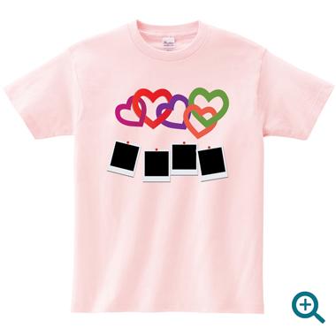 パーティー記念写真名入れTシャツ