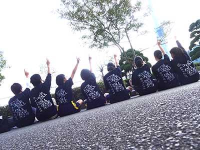 中学校駅伝部の期間限定オリジナルTシャツ!チームTシャツ・部活Tシャツ制作事例