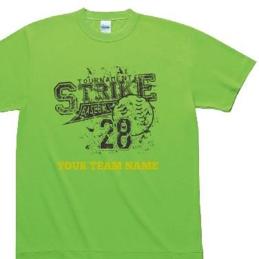 ダメージ風ベースボール オリジナルTシャツ