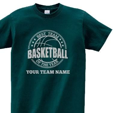 バスケエンブレム オリジナルTシャツ