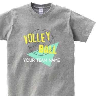 80'sバレーボール オリジナルTシャツ