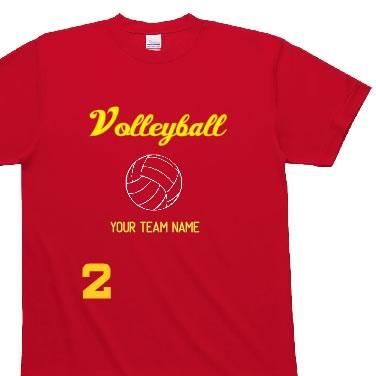 VOLLEYBALLオリジナルTシャツ