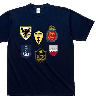 エンブレムいっぱい オリジナルTシャツ