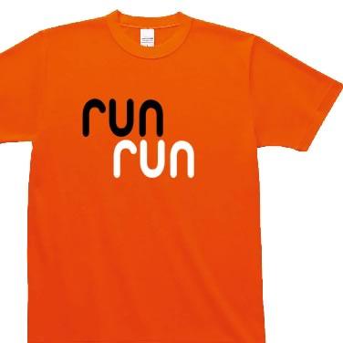 RUN RUN オリジナルTシャツ