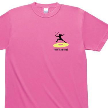 女性シルエット オリジナルTシャツ