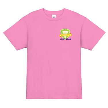 「エンブレム」オリジナルバドミントンチームTシャツ