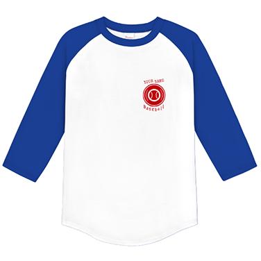 「スタンプ風」オリジナル草野球チームTシャツ
