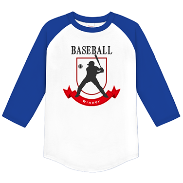 「winner」オリジナル草野球チームTシャツ