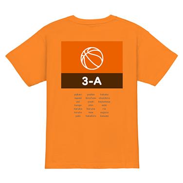 「3-A クラス」オリジナルバスケチームTシャツ