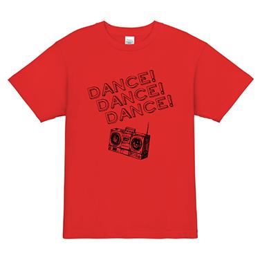 「DANCE×3」オリジナルダンスチームTシャツ