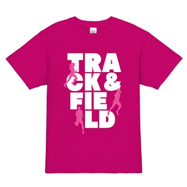 「TRACK&FIELD」オリジナルランニング・ジョギング・マラソンチームTシャツ