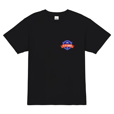 「エンブレム風」オリジナルサッカー・フットサルチームTシャツ
