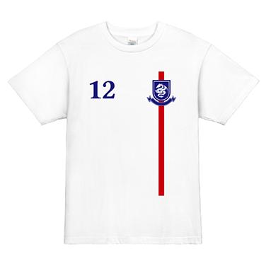 「イングランド風」オリジナルサッカー・フットサルチームTシャツ