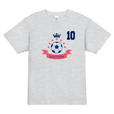 「サッカーボール」オリジナルサッカー・フットサルチームTシャツ