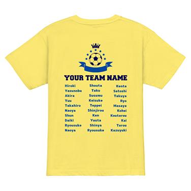 「クラス」オリジナルサッカー・フットサルチームTシャツ