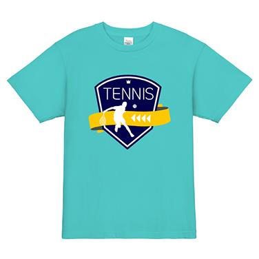 「エンブレム」オリジナルテニスチームTシャツ