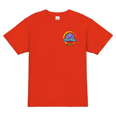 「エンブレム」オリジナルバレーボールチームTシャツ