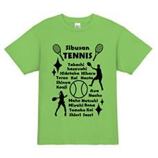 テニスのクラス・球技大会Tシャツ