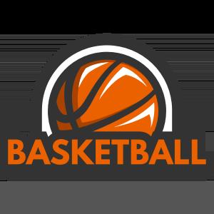 バスケットボールのデザイン素材