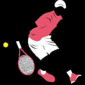 テニスのデザイン素材