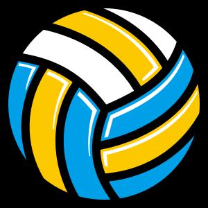 バレーボールのデザイン素材