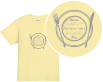HAPPY FOOD!スタッフ Tシャツデザイン