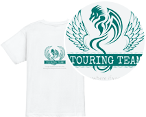 ツーリング Tシャツデザイン