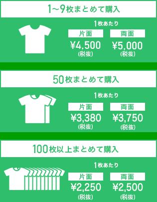 スタンダードフルグラフィックTシャツの価格