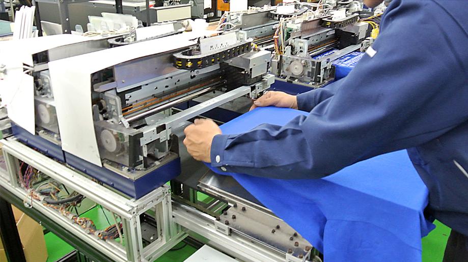 国内工場で生産しています