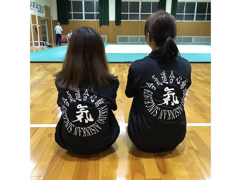 合気道 合心館谷本会さまのオリジナルTシャツ