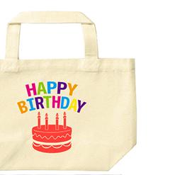 Birthday Cake|オリジナル誕生日プレゼントエコバッグ