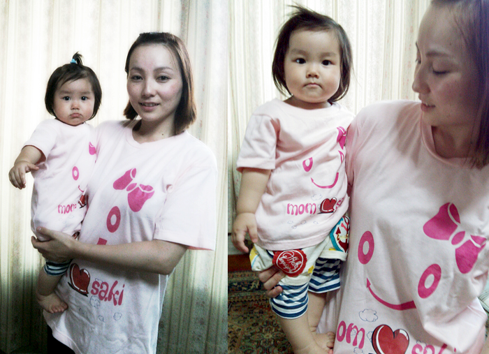 オリジナルTシャツ事例紹介~一歳の誕生日の記念に