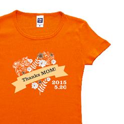 Thanks MOM!|オリジナル母の日のプレゼントTシャツ