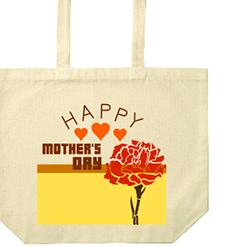 HAPPY MOTHER'S DAYトート|オリジナル母の日のプレゼントTシャツ