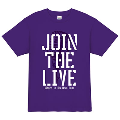 JOIN THE LIVE_ライブ Tシャツデザイン