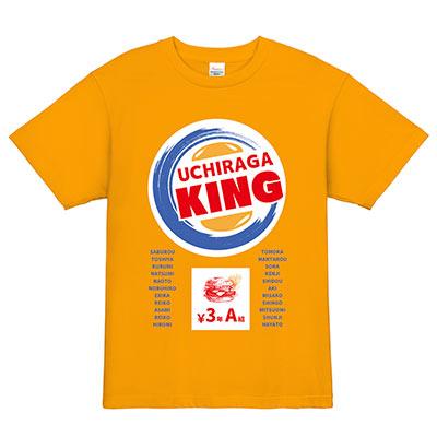 某バーガーチェーン風クラスTシャツ Tシャツデザインテンプレート