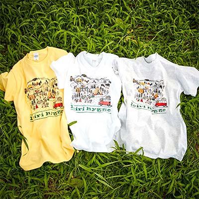 物販・グッズ販売用のオリジナルTシャツ